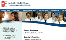 Cambridge Health Alliance Internal Website